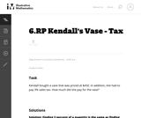 Kendall's Vase - Tax