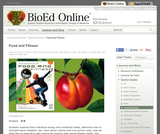 BioEd Online: Food and Fitness