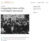 Competing Voices of the Civil Rights Movement