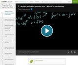 Differential Equations: Laplace Transform 5