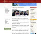 Ethics of Encryption