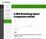 5.MD Breaking Apart Composite Solids
