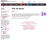 The 24 Game