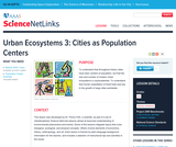 Urban Ecosystems 3: Cities as Population Centers