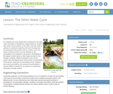 The Other Water Cycle