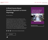 A Mixed Course-Based Research Approach to Human Physiology