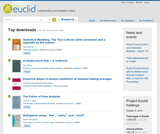 Project Euclid: Mathematics and Statistics Resources Online
