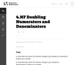 4.NF Doubling Numerators and Denominators