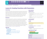 CS Principles 2019-2020 3.8: Creating Functions with Parameters