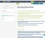 Measuring: Halving a Recipe