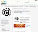 Global Nomads Group: Barriers to Access Education with Girl Rising Executive Producer, Tom Yellin (One Week Lesson Plan)