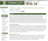 Teaching Case: Peanut Policy in the United States, 1996