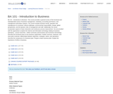 BA 101 - Introduction to Business