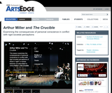 """Arthur Miller and """"The Crucible"""""""