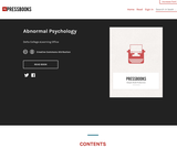 Abnormal Psychology – Simple Book Publishing