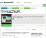 The Virtual Immunology Lab