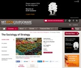 The Sociology of Strategy, Spring 2005