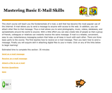 Mastering Basic E-Mail Skills
