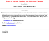 Basics of Algebra and Analysis for Computer Science