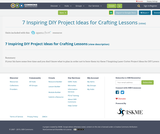 7 Inspiring DIY Project Ideas for Crafting Lessons