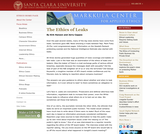 Ethics of Leaking