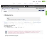 Programmare in Processing
