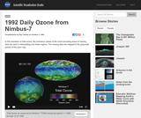 1992 Daily Ozone from Nimbus-7