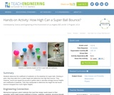 How High Can a Super Ball Bounce?