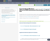 Core for Social Workers 200 Level  SDM Assessment Knowledge and Skills Lab
