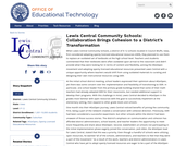 Lewis Central Community Schools: Collaboration Brings Cohesion to a District's Transformation