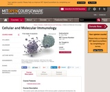 Cellular and Molecular Immunology, Fall 2005