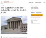 The Supreme Court: The Judicial Power of the United States