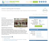 Earthquake Formation