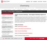 CH105: Consumer Chemistry