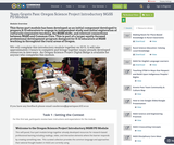 Team Grants Pass: Oregon Science Project Introductory NGSS PD Module