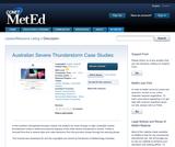 Australian Severe Thunderstorm Case Studies