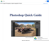 Introduction to Digital Photography and Digital Imaging