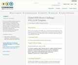 Global OER Remix Challenge: STE{A}M Template