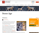 Ancient History - Stone Age