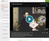 Manet's Emile Zola