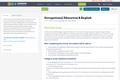 Occupational Education & English