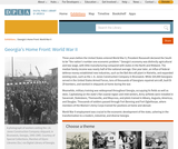 Georgia's Home Front: World War II