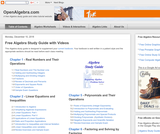 Online Algebra Study Guide