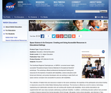 Space Science Is for Everyone: Creating and Using Accessible Resources in Educational Settings