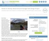 Above-Ground Storage Tank Design Project