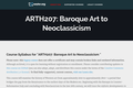Baroque Art to Neoclassicism