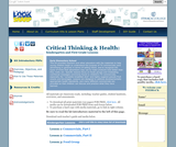 Critical Thinking & Health