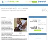 Haptics: Touch Command