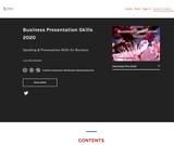 Business Presentation Skills 2020