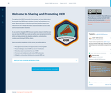 Welcome to Sharing and Promoting OER